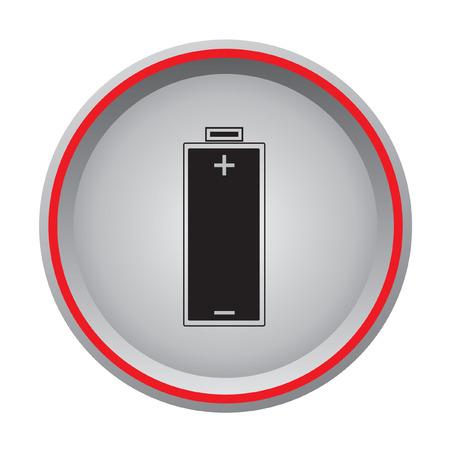 lading: Batterijoplaadsymbool Stock Illustratie