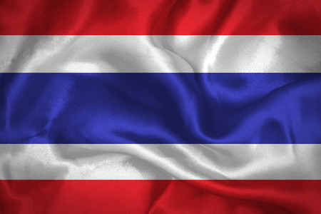 Thailand waving Flag