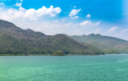 Srinagarind Dam,Thailand Stock Photo