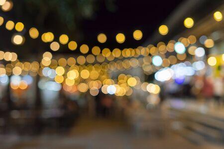 Blur background like a bright bokeh Foto de archivo - 135516376