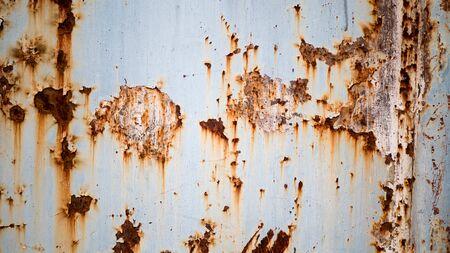 Oxidando la vieja puerta de hierro