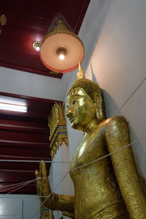 nat: Buddha images,sculpture,Thailand architecture,Wat Thammamun Worawihan, Mueang Chai Nat District, Chai Nat Province, Thailand