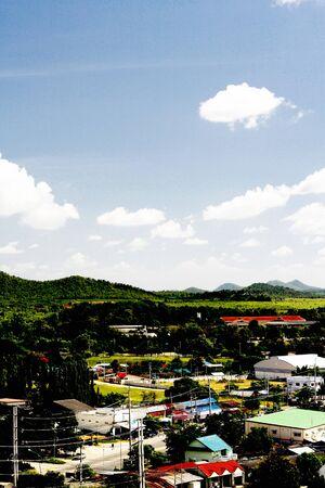 lanscape: Thai city Lanscape Stock Photo