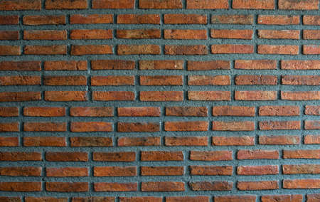 Red brick wall texture background Imagens