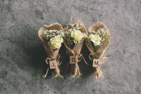 flowerpower: Wedding Bouquet Stock Photo
