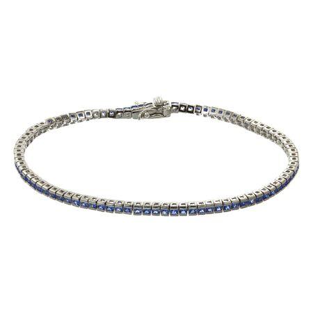 bride bangle: Silver bracelets with zirconium stones on white background Stock Photo