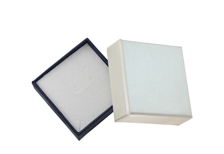 noname: A empty jewelry box on white background