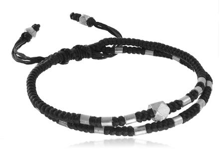 textil: Textil bracelet on white background