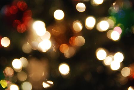 Bokeh, abstract light background image. photo