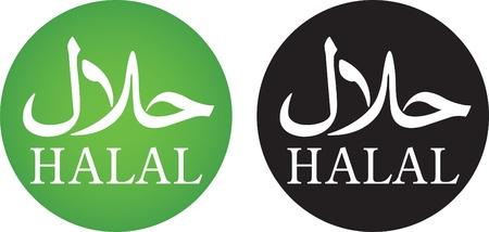 アラビア語とローマ字とハラールの記号