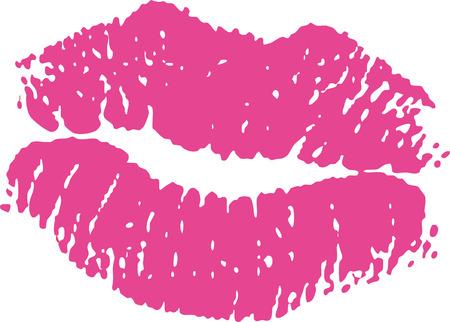 673 Kiss Mark Stock Vector Illustration And Royalty Free Kiss Mark ...