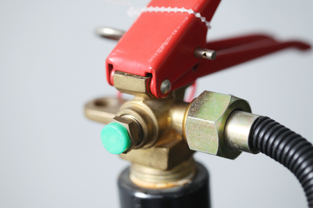 foam safe: Fire extinguisher head isolate