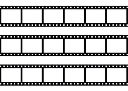 Film strip photo