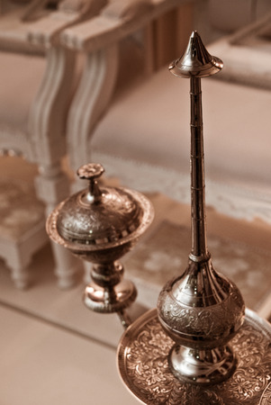 dais: Malay Wedding Equipment used like inai, bunga rampai and others