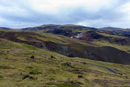 Heetwaterbronnen heuvels