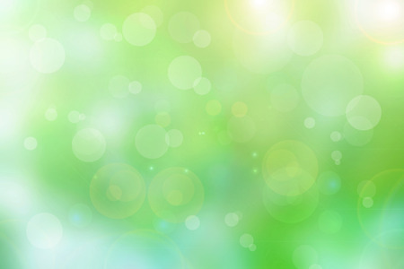 Abstract bright spring and beautiful bokeh effect background