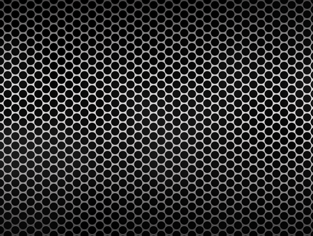 reflect: Metal mesh silver texture background Stock Photo