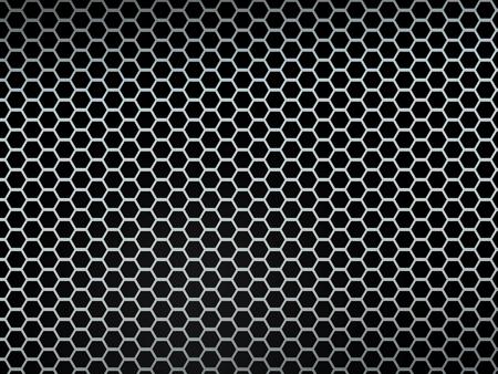malla metalica: Malla metálica de textura fondo de plata