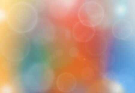 light color: Abstract colorful background and bokeh lights