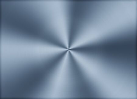 blue steel: Circular brushed metal texture background Stock Photo