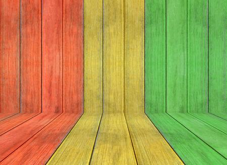 reggae: couleur de reggae et de plancher en bois texture de fond
