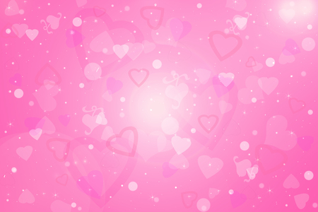 Priorità bassa di giorno di San Valentino con cuori rosa