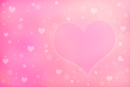 wedding backdrop: Abstract valentines day background with hearts