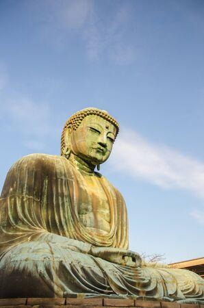 Giant seated buddha photo