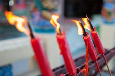 catholic symbol: Thai church candles