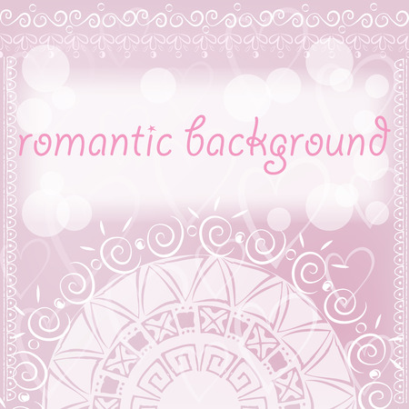 mendie: romantic in ethnic style Illustration