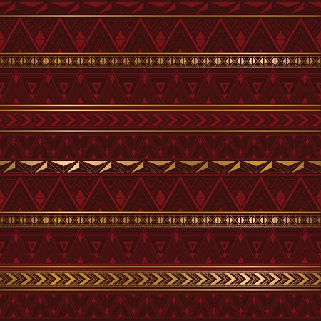 Ethnic texture in burgundy color