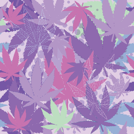 Texture with cannabis.