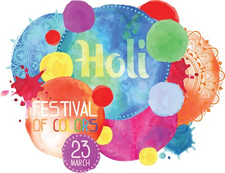 The poster for the festival of Holi.