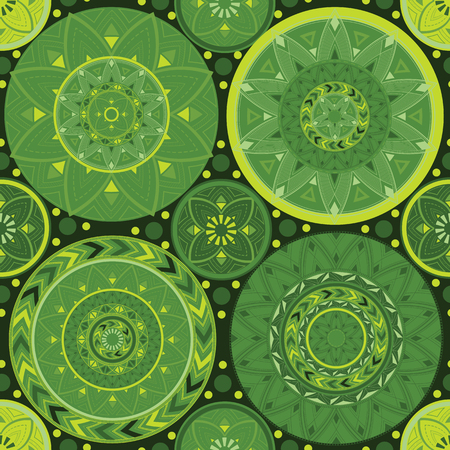 Green tones. Texture