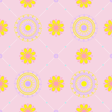 Texture with a floral pattern.