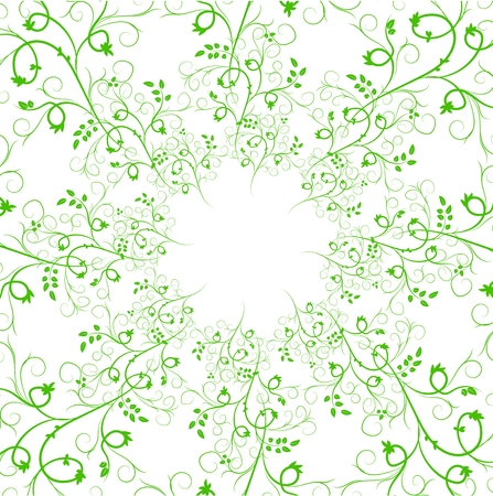 brashes: Collection of Artistic Hand Sketched Decorative Doodle Borders and Frames. Floral Design Elements. Hand Drawn Vector Illustration. Pattern Brashes Illustration