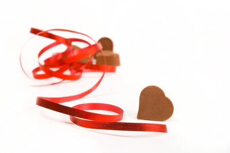 chocolate heart shape for gift