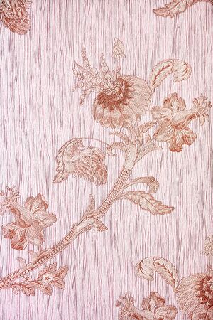Old fashioned patterned wallpaper