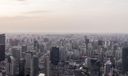 Vista del paisaje de shanghai Foto de archivo - 62960216