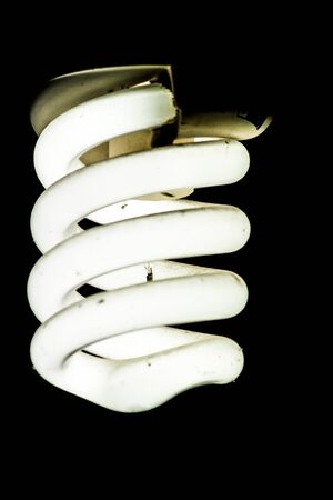 cfl: CFL Light Stock Photo