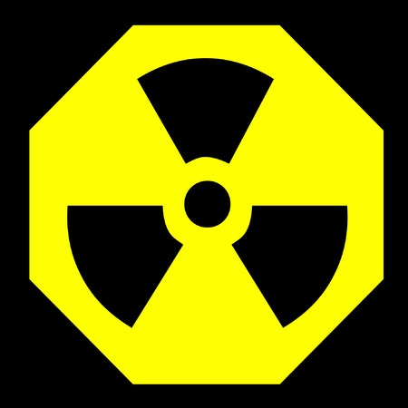 radioactive sign Stock fotó - 3428208