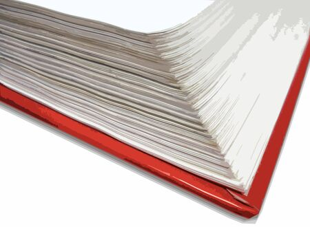 open red book Stock Photo