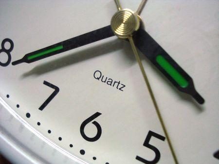 close-up of clock Stock Photo