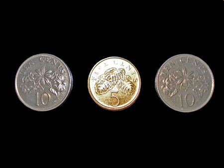 singapore cents photo