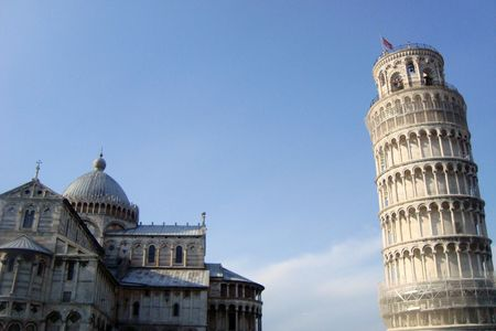 Piazza del Duomo or Cathedral Square in Pisa, Tuscany, Italy Stock Photo