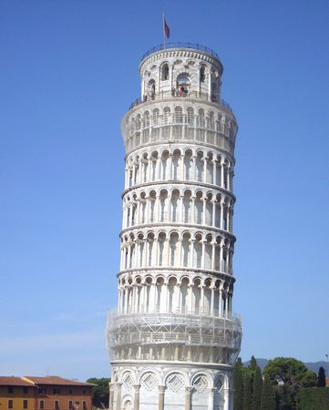leaning tower of pisa, Tuscany, Italy