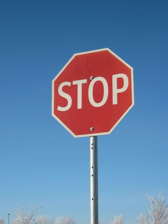 stop sign Stock Photo - 6138584