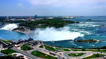 View of Niagara Falls photo