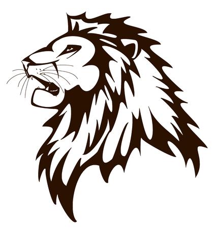 lioness: Lion Illustration