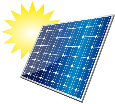 collector: solar panel